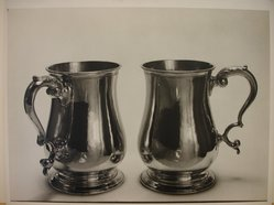 Herman de Wetter (American, born Estonia, 1880-1950). <em>Pair of Tankards</em>, n.d. Gelatin silver photograph, 11 x 14 in. (27.9 x 35.6 cm). Brooklyn Museum, Brooklyn Museum Collection, X894.78. © artist or artist's estate (Photo: Brooklyn Museum, CUR.X894.78.jpg)