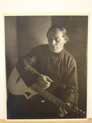Herman de Wetter (American, born Estonia, 1880-1950). <em>The Lost Chord</em>, n.d. Gelatin silver photograph, 13 7/8 x 10 7/8 in. (35.2 x 27.6 cm). Brooklyn Museum, Brooklyn Museum Collection, X894.81. © artist or artist's estate (Photo: Brooklyn Museum, CUR.X894.81.jpg)
