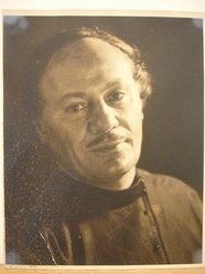 Herman de Wetter (American, born Estonia, 1880-1950). <em>Close Up of Musician in the Lost Chord</em>, n.d. Gelatin silver photograph, 10 x 8 in. (25.4 x 20.3 cm). Brooklyn Museum, Brooklyn Museum Collection, X894.82. © artist or artist's estate (Photo: Brooklyn Museum, CUR.X894.82.jpg)