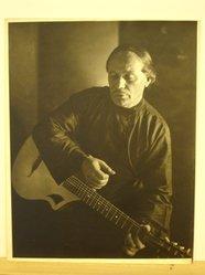 Herman de Wetter (American, born Estonia, 1880-1950). <em>The Lost Chord</em>, n.d. Gelatin silver photograph, 13 7/8 x 10 7/8 in. (35.2 x 27.6 cm). Brooklyn Museum, Brooklyn Museum Collection, X894.83. © artist or artist's estate (Photo: Brooklyn Museum, CUR.X894.83.jpg)