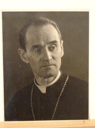 Herman de Wetter (American, born Estonia, 1880-1950). <em>Archbishop Francis</em>, n.d. Gelatin silver photograph, 13 7/8 x 10 7/8 in. (35.2 x 27.6 cm). Brooklyn Museum, Brooklyn Museum Collection, X894.89. © artist or artist's estate (Photo: Brooklyn Museum, CUR.X894.89.jpg)