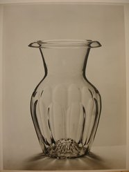 Herman de Wetter (American, born Estonia, 1880-1950). <em>Glass Vase</em>, n.d. Gelatin silver photograph, 13 7/8 x 11 in. (35.2 x 27.9 cm). Brooklyn Museum, Brooklyn Museum Collection, X894.91. © artist or artist's estate (Photo: Brooklyn Museum, CUR.X894.91.jpg)