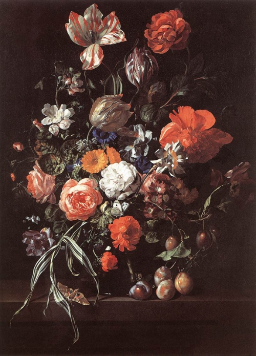 Image result for ruysch painting